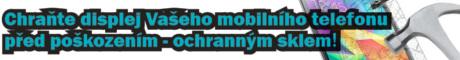 Ochranná skla pro mobily